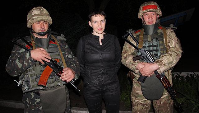 Савченко хочет встретиться с лидерами ДНР и ЛНР