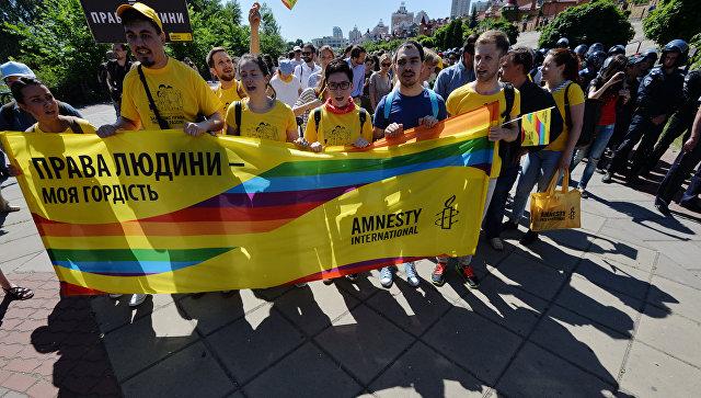 Менее половины киевлян негативно относятся к проведению гей-парада в Киеве