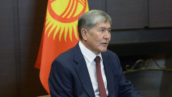 Атамбаев: для межэтнического мира нужно формирование идентичности у граждан