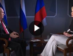 Интервью Владимира Путина журналистке телеканала NBC News Мегин Келли