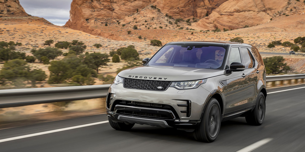 Land Rover обновил внедорожник Discovery