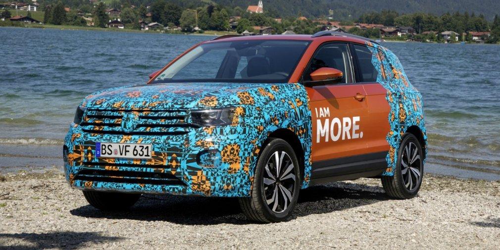Новый кроссовер Volkswagen показали на видео