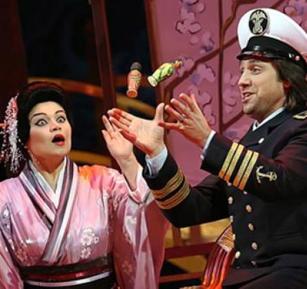 Опера Мадам Баттерфляй | Екатеринбургский театр оперы и балет