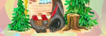 Машенька и медведь | кукольный спектакль