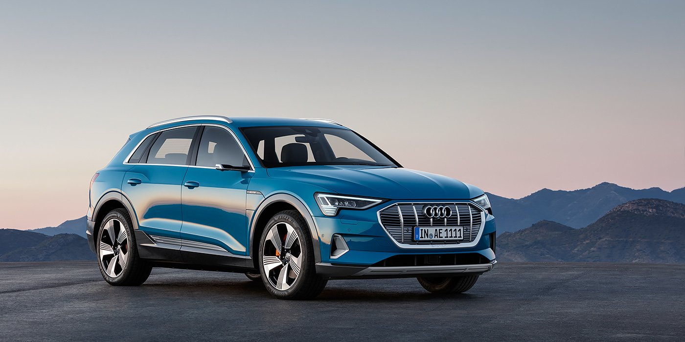 Audi представила новый кроссовер E-Tron