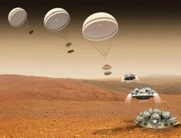 Спускаемый аппарат InSight совершил успешную посадку и стал первой сейсмостанцией на Марсе