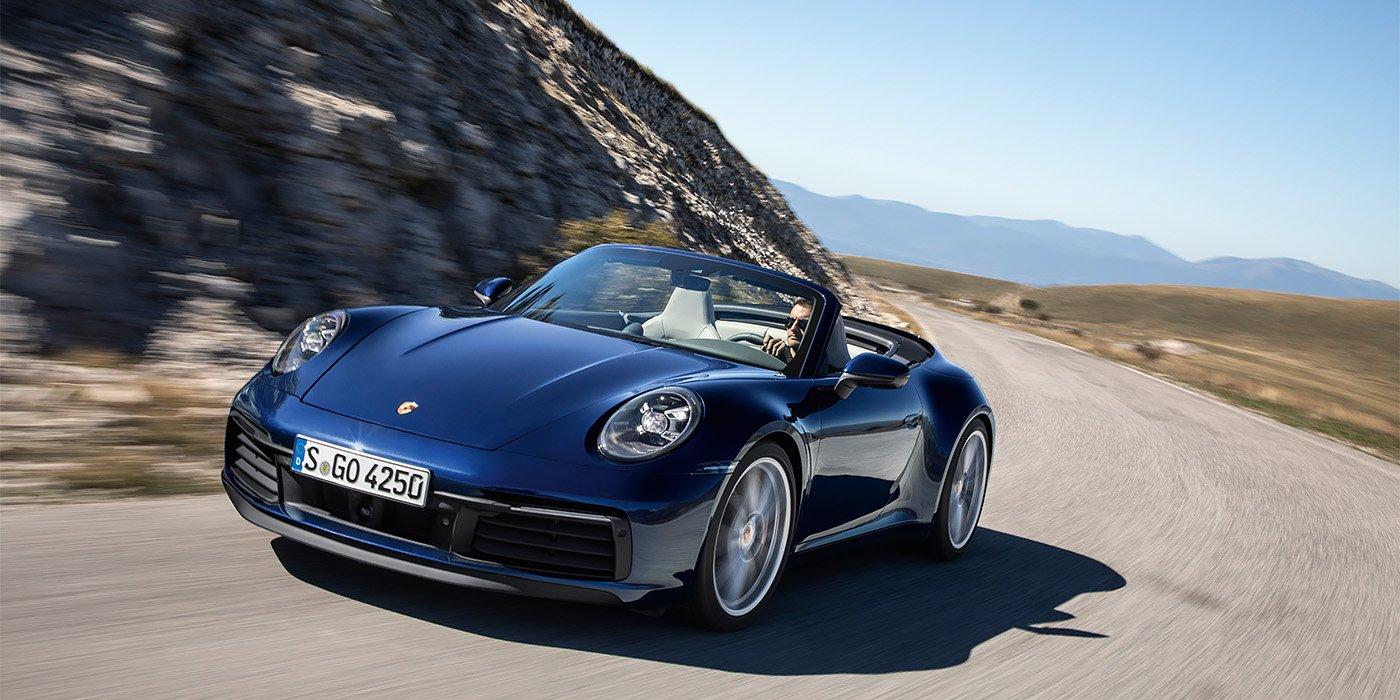 Названа рублевая стоимость кабриолета Porsche 911 нового поколения