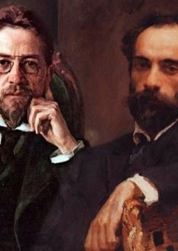 Чехов и Левитан: двойной портрет в интерьере эпохи