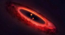 Астрономы рассказали о системе с уникальным протопланетным диском