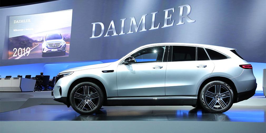 Власти Германии оштрафовали Daimler на 870 миллионов евро