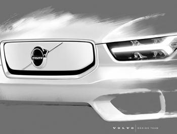 Volvo рассказала об электрическом XC40 c передним багажником