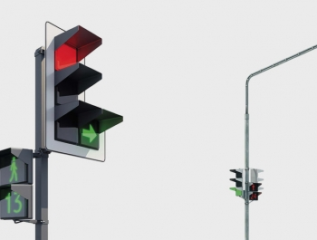 В России появятся «квадратные» светофоры