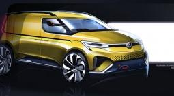 Новый Volkswagen Caddy получит внешность в стиле восьмого Golf