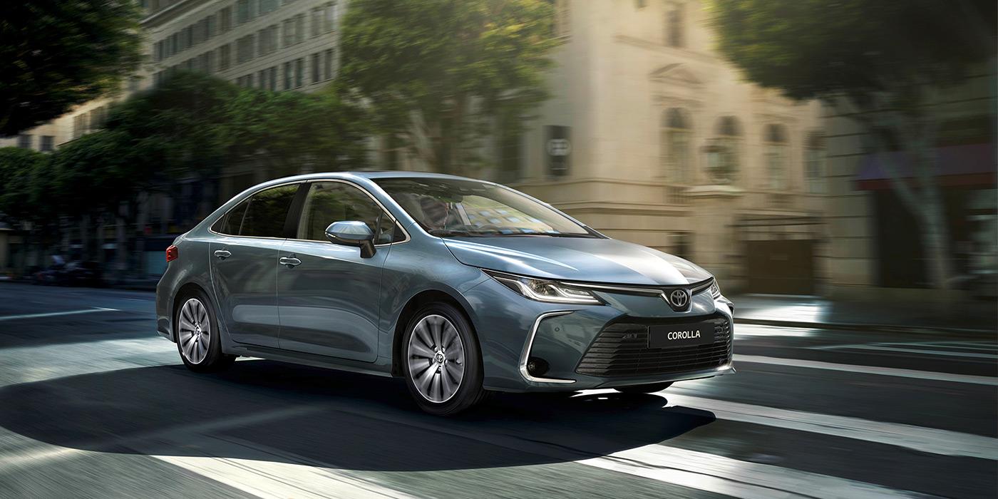 Toyota представила новую Corolla для России