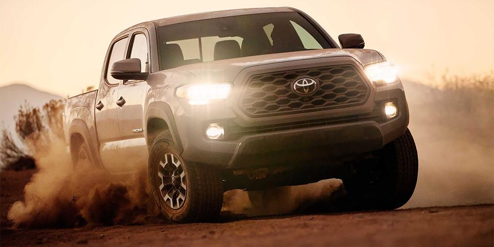 Toyota обновила пикап Tacoma