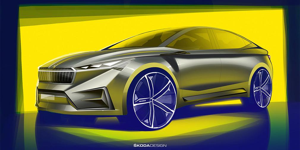 Skoda привезет в Женеву новый купе-кроссовер
