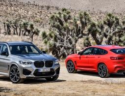 BMW представила спортивные версии кроссоверов X3 и X4