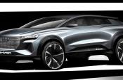 Audi опубликовала первые изображения нового кроссовера