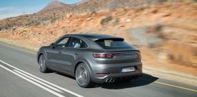 Porsche представил новый внедорожник Cayenne Coupe