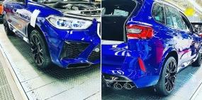 Новые BMW X5 M и X6 M замечены без камуфляжа