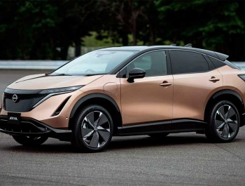 Nissan представил первый электрический кроссовер