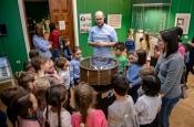 Открытие выставки истории анимации в Астрахани