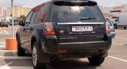В Москве ГИБДД начала охоту на машины с иностранными номерами
