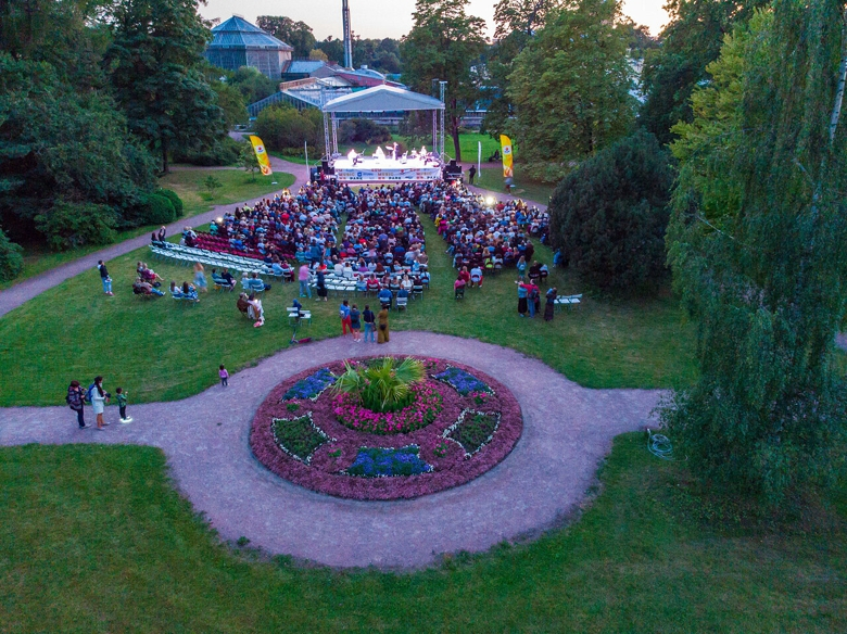 Четвертый ежегодный музыкальный оpen-air фестиваль «Summer Music Park»