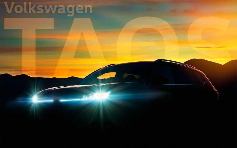 Volkswagen придумал название для нового кроссовера меньше Tigua