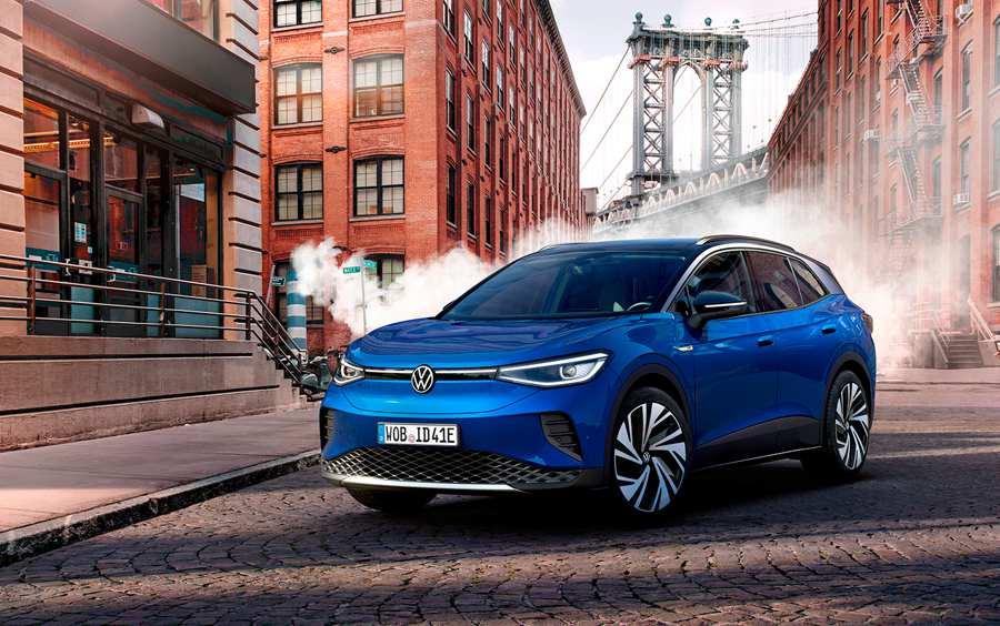 Volkswagen представил первый серийный электрокроссовер