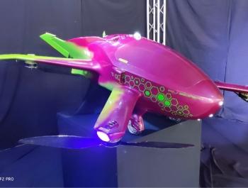 Российский инженер показал прототип летающего автомобиля