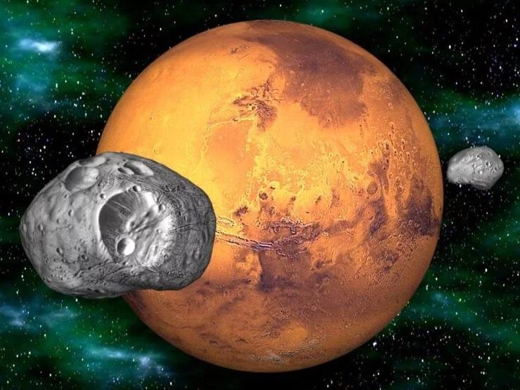 Япония отправит космический аппарат к спутнику Марса