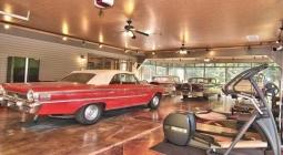 В США продают дом, в котором есть гараж на 25 машин