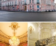 Парадные залы Дворца Белосельских-Белозерских