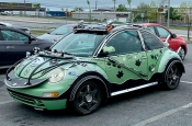 В Канаде нашли Volkswagen Beetle в стиле «Безумного Макса». Фото