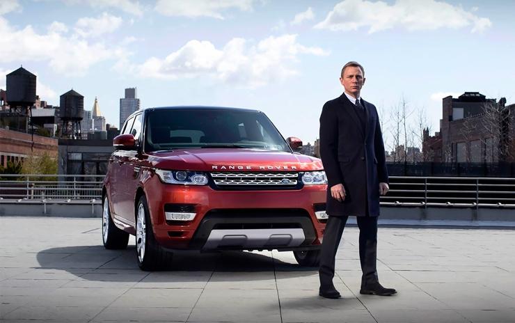 Машины из новой части о Джеймсе Бонде: Aston Martin, Land Rover и другие