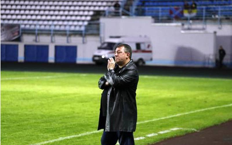 Главного тренера брянского «Динамо» отправили вотставку