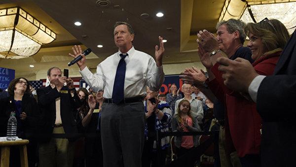 Республиканец Кейсик не собирается выходить из президентской гонки