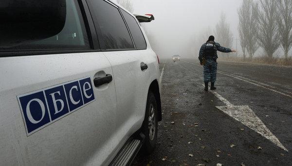 Генсек: вопрос вооружения СММ ОБСЕ на Украине не будет решаться немедленно