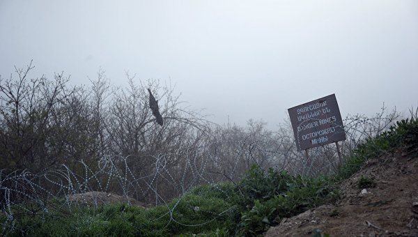 Минобороны Армении заявило об обстреле границы со стороны ВС Азербайджана