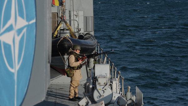 Постпредство РФ: НАТО хочет обострить противостояние в Черном море
