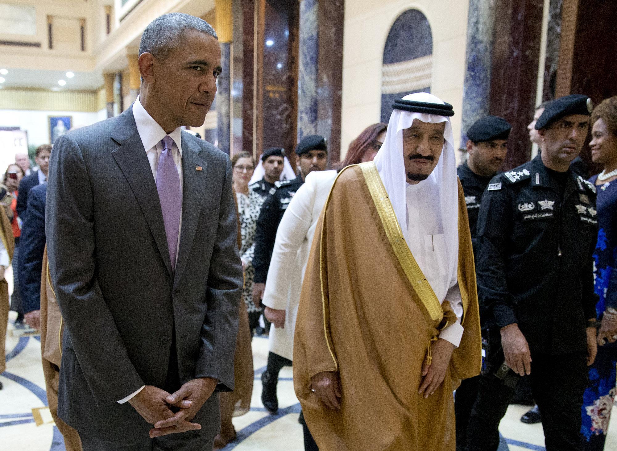 Визит Обамы в Саудовскую Аравию