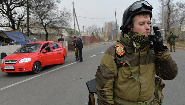 Минобороны ДНР: блокпост в Донбассе подвергся обстрелу, погибли четверо