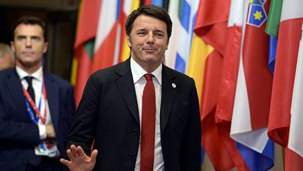 Ренци: лидеры G5 единодушны в поддержке правительства нацединства Ливии