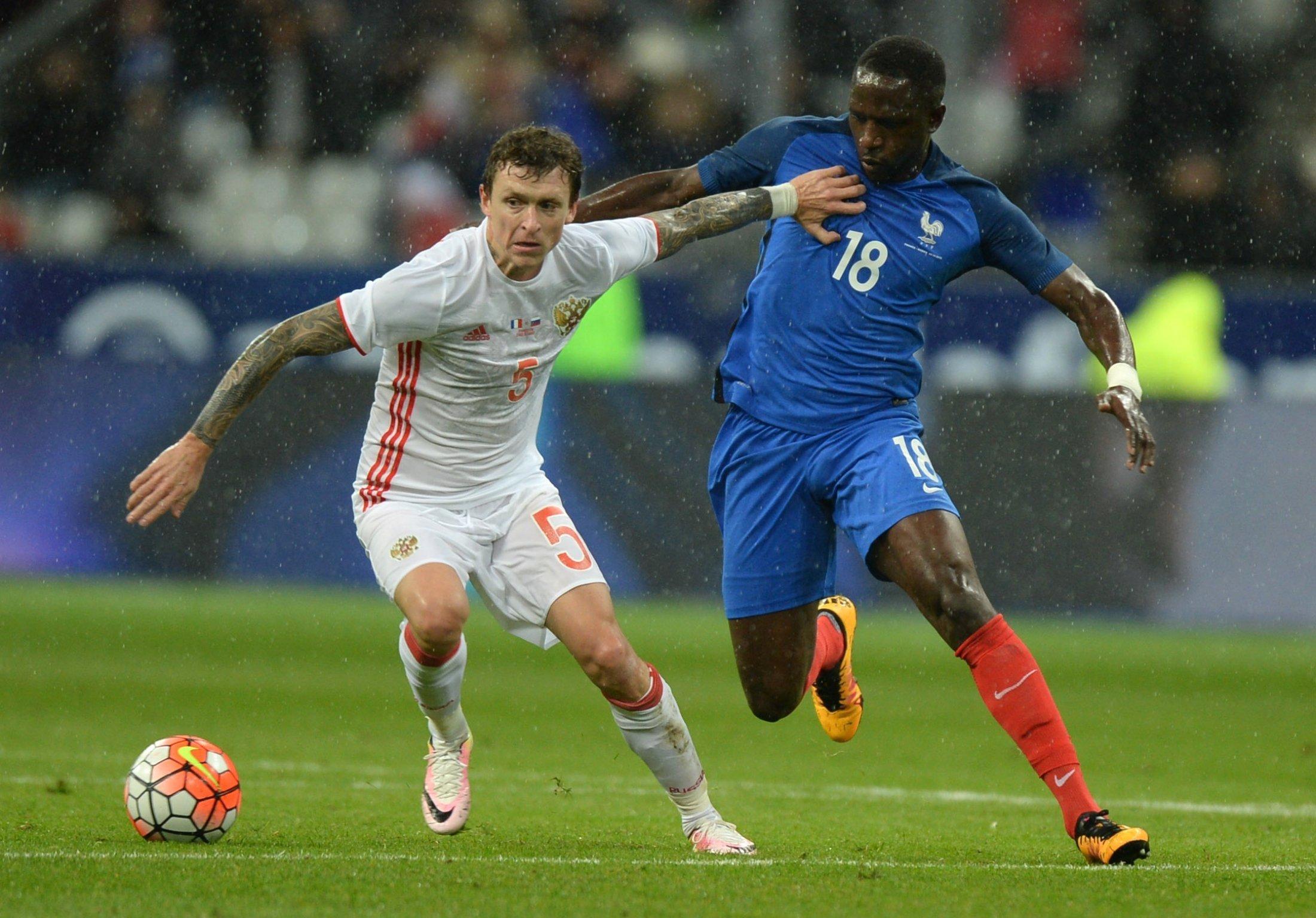 Сборная Франции обыграла Россию со счетом 4:2