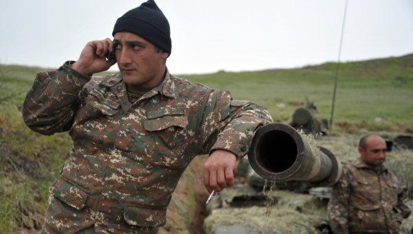 Баку заявил, что ВС Армении в Карабахе препятствуют урегулированию