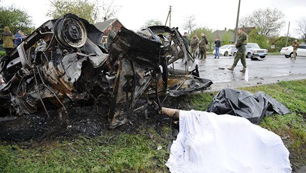 Власти ДНР собирают информацию о причастных к обстрелу у Еленовки