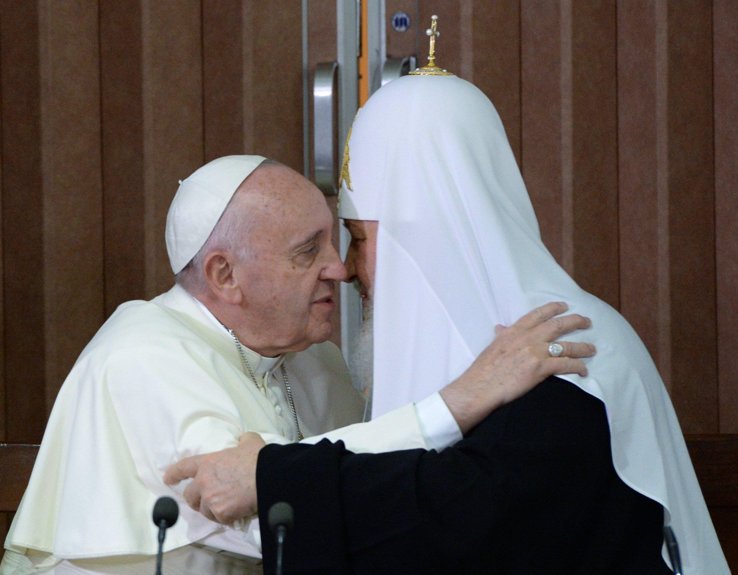 Консервативный религиозный альянс между Папой и Патриархом
