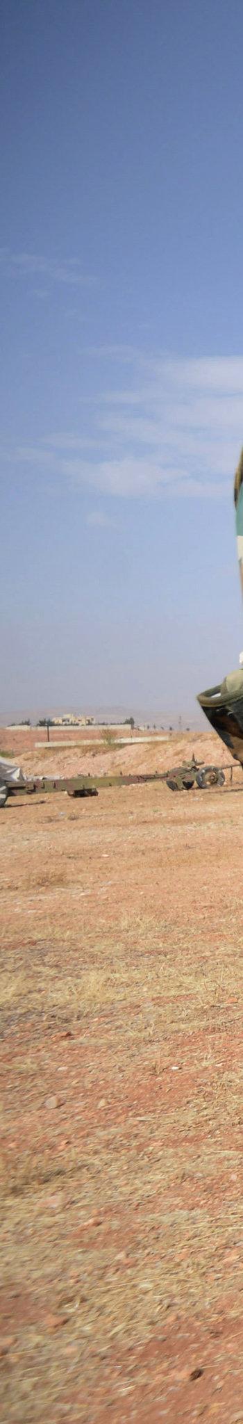 Власти США: Россия перебрасывает артиллерию на север Сирии