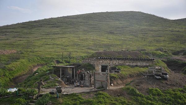 Минобороны Армении заявило об обстреле границы военными Азербайджана